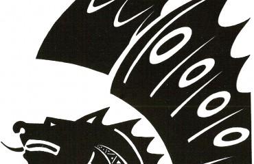 Bestiario senese in serigrafia – Drago