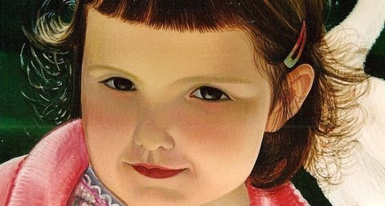 Ritratto di bambina senese