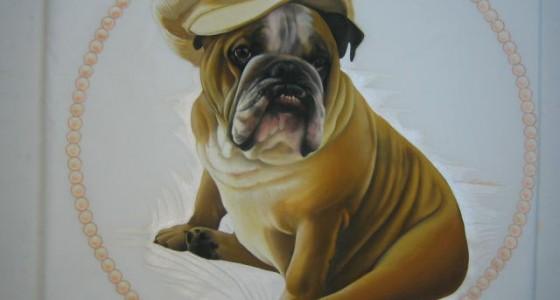 Dipinto cane